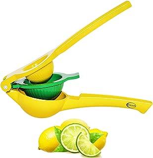 Teja's Lemon Lime Squeezer Premium Quality Metal Citrus Manual Press Juicer Squeeze for Lemon and Lime Dishwasher Safe