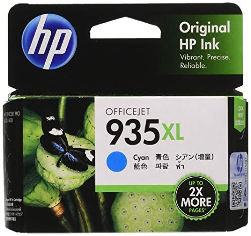 HP 935XL Cartucho de Tinta Cian 9.5 ml - Cartucho de Tinta para impresoras (Original, Cian, 1...