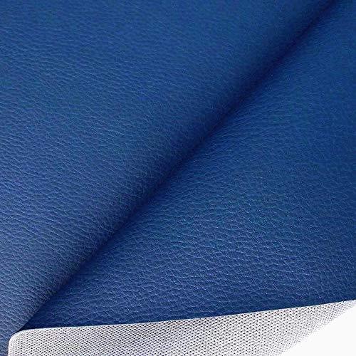 Even Kunstleder türkisblau Bezugstoff Polsterstoff Möbelstoff Tischdeckenstof
