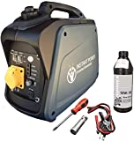 Instant Power Portable Suitcase Inverter Petrol Generator with 110v Plug for Power Tools