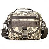 (フェニックス一輝) Phoenix Ikki 両用 Molleモール対応バッグに装着可能 全6色 迷彩 耐水素材 アウトドア ショルダーバッグ タクティカル 肩掛けバッグ 軍事的 手提げバッグ ACUデジタル迷彩