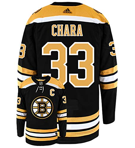 adidas Zdeno Chara Boston Bruins Authentic Home NHL Hockey Jersey Black