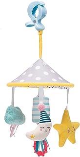 مجموعه بازی های اسباب بازی Taf Toys Mini Moon Pram | متناسب با Pram & Stroller ، سرگرمی کودک در حال حرکت ، اسباب بازی های آویزان برای شاد کردن کودک ، مناسب برای نوزادان تازه متولد شده ، راحت تر در فضای باز ، بهترین هدیه