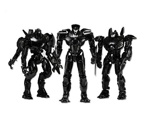 SDCC 2014 Neca Exclusive Pacific Rim 'End Credits' Jaeger 3 Pack