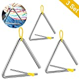 Triangle,triangle musique, Triangle de percussion,Triangle Percussion Jouet...