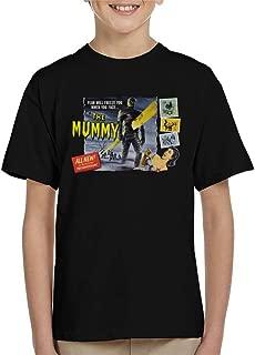 Hammer Horror Films Mummy Fear Will Freeze You Kid's T-Shirt