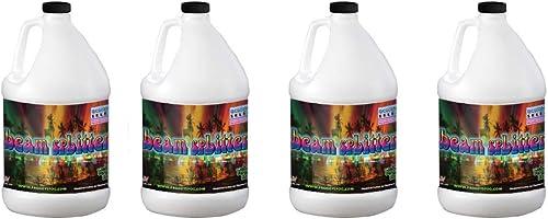 Beam Splitter - Professional Water Based Haze Fluid - 4 Gallon Case - Works Amazing in Hurricane Haze 1D, Haze 2D and...