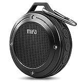 MIFA F10 Enceinte extérieure sans fil Bluetooth 4.0 stéréo portable avec micro intégré Résistance aux chocs IPX6 étanche avec basses