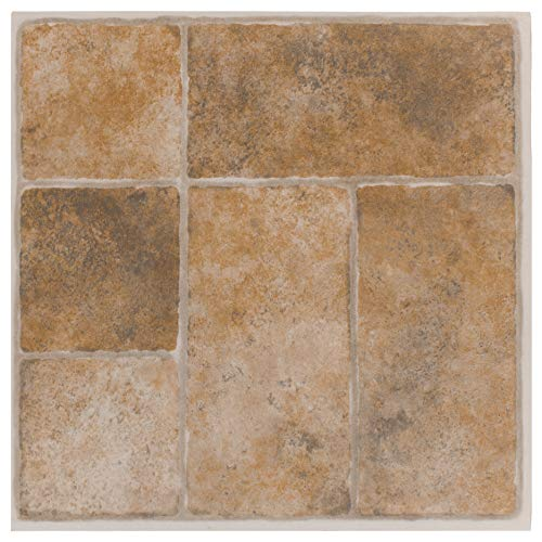 Achim Home Furnishings Achig FTVGM33720 Nexus Quartose Granite,12 Inch x 12 Inch, Self Adhesive Vinyl Floor 337, 20 Tiles, Count