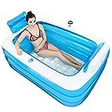 Baignoires Jacuzzis et balnéothérapie Gonflable Double Bassin de lavabo Adulte de Bain de Bain pour Enfants en Plastique