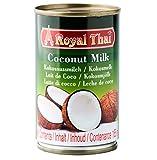 Royal Thai Leche de Coco 8-10% Grasa Paquete de 1 x 165 ml 160 g