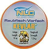 Behr - Hilo de kevlar, 10 cm, resistencia de 5-15 kg Talla:12 kg