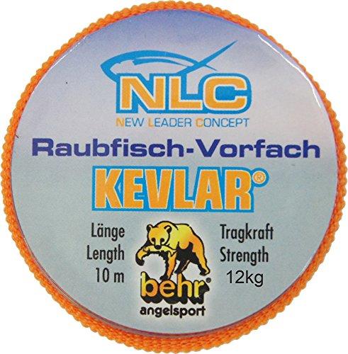 Behr - Hilo de kevlar, 10 cm, resistencia de 5-15 kg Talla:7 kg