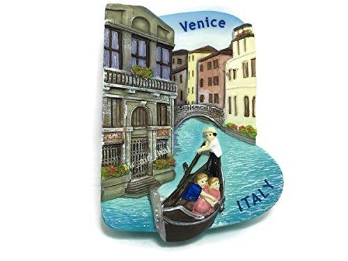 Góndola Venecia, Italia Souvenir resina 3d imán para nevera Souvenir Tourist regalo