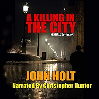A Killing in the City audiobook cover art