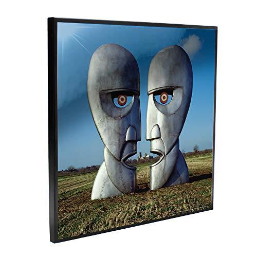 Nemesis Now Pink FloydThe Division Bell - Immagine trasparente, in MDF, blu, 32 cm