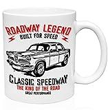 Alfa romeo giulietta berlina 1955 roadway legend 11oz Tazza da caffè in ceramica di alta qualità