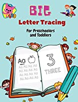 BIG Letter Tracing for Preschoolers and Toddlers: Homeschool Preschool Learning Activities for 3+ year olds (Big ABC Books) Tracing Letters, Numbers, Dab and Find Letters, 100 pages.