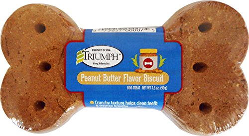 Triumph Super Biscuits Dog Treat Peanut Butter