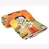 Ruhfab Beautiful Design Cartoon Print Reversible AC Blanket / Dohar / Quilt (Beem, Single Bed)
