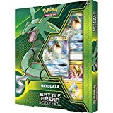 Pokemon TCG: Battle Arena Deck Rayquaza-Gx | 2 Foil Cards | 1 Foil Prism Star Card