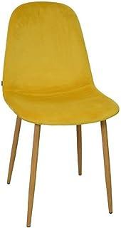 Zons silla sala a comedor escandinava terciopelo escandinava 45* 55* 85cm