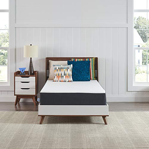 Sealy, 10-Inch, Memory Foam bed in a box, Adaptive Comfort Layers, Medium-Firm Feel, Twin