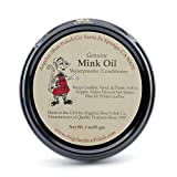 Angelus Mink Oil Paste Leather Waterproof & Conditioner 3oz. Boots Shoes Jackets