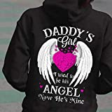 Daddy_s Girl I Used To Be His Angel Now He_s Mine Memorable T-shirt 1