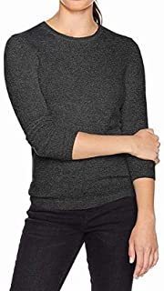 Lark & Ro Womens Sweaters Gray US Size XS Crewneck Cashmere Pullover