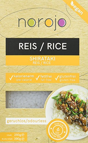 norojo geruchlose Shirataki - Reis Art, 6er Pack (6 x 250gr)