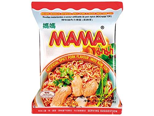 Mama Fideos Instantáneos, Moo Nam Tok 55 g