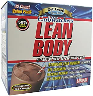 Labrada Nutrition - Low Carb Lean Body Chocolate, 42 packets