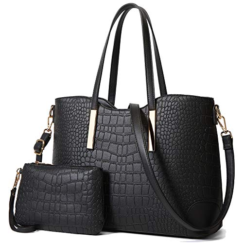 YNIQUE Satchel Purses and Handbags for Women Shoulder Tote Bags Wallets Size: L