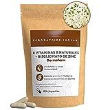 Vitamina B Complex natural + Zinc | Semillas quinua germinadas Bio | Cabello Piel Inmunidad | Biotina B1, B2, B3, B5, B6, B9, B12 | Vitaminas para el cabello