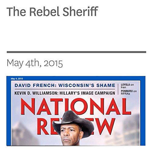 The Rebel Sheriff audiobook cover art