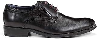 Fluchos | Zapato de Hombre | HERACLES 8410 Memory Negro Zapato de Vestir | Zapato de Piel de Vacuno de Primera Calidad | C...
