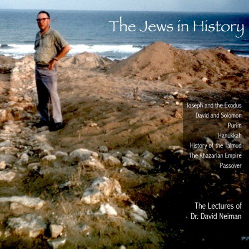 The Jews in History audiobook cover art