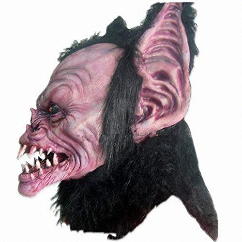 JNKDSGF Horror maskMonster Batman Halloween masker Beest latex duivel latex maskers partij maskerade maskers horror dier Carnaval Kostuum