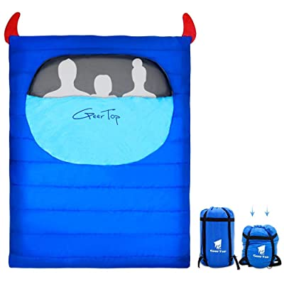 Geertop Compact Double Sleeping Bag Large for A...