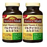 大塚製薬 ネイチャーメイド マルチビタミン&ミネラル 200粒 2本セット 200日分