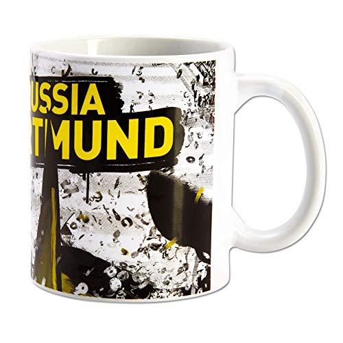Borussia Dortmund BVB Kaffeebecher/Tasse ** Fahnenmeer ** one size