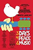Woodstock 3 Days of Peace Poster Drucken (60,96 x 91,44 cm)