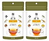 漢茶 気 POWER 2袋セット (各2g×6包入り) ティーバッグ プーアル茶ベース ノンカフェ……