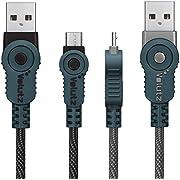 Micro USB Kabel [2er Pack] 2m Extra Lang, Volutz 2.4A / 3.0A Nylon USB Ladekabel, Schnellladekabel für Android Smartphones, Samsung Galaxy S7/S6 Edge, HTC, Sony, Huawei, Nexus und mehr [ArmorCord Series]