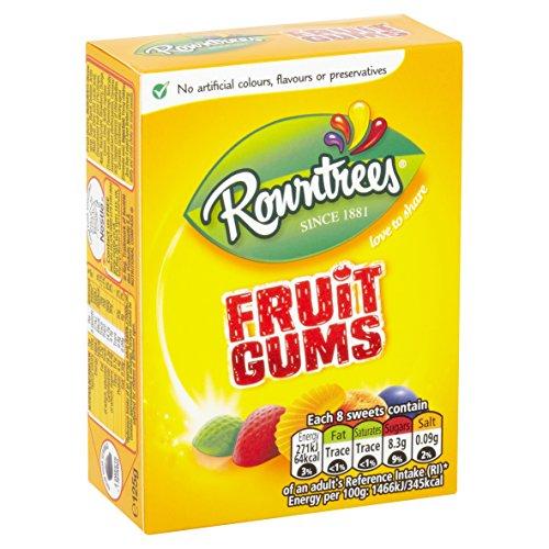 Rowntrees Fruit Gums Carton 125g