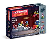 Magformers Power Sound Set (59 Piece) Magnetic Building Blocks, Educational Magnetic Tiles Kit , Magnetic Construction STEM Musical Toy Set includes wheels