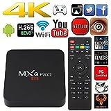 Kangxinsheng MXQ Pro TV Box Android 6.0,4K Smart TV Box Quad Core Ultra HD 1G/8G 64Bit Set Top TV Box with WiFi HDMI DLNA