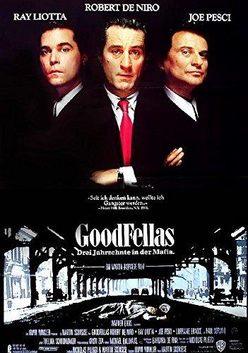 Goodfellas - Good Fellas - DREI Jahrzehnte in der Mafia (1990) | original Filmplakat, Poster [Din A1, 59 x 84 cm]