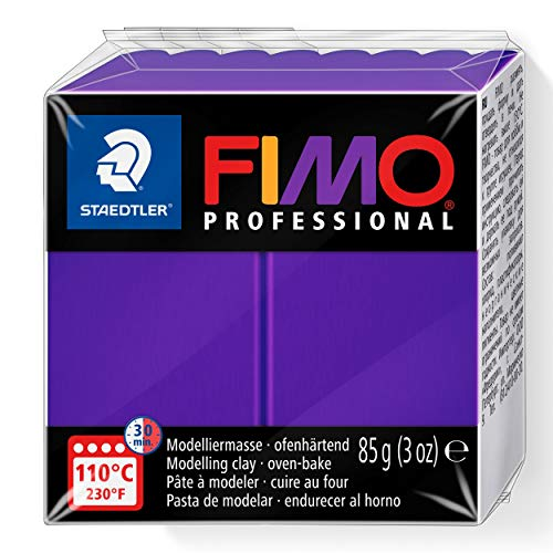 Staedtler Fimo professional Individual Standard Blocks 85g, Lilac, 85 g